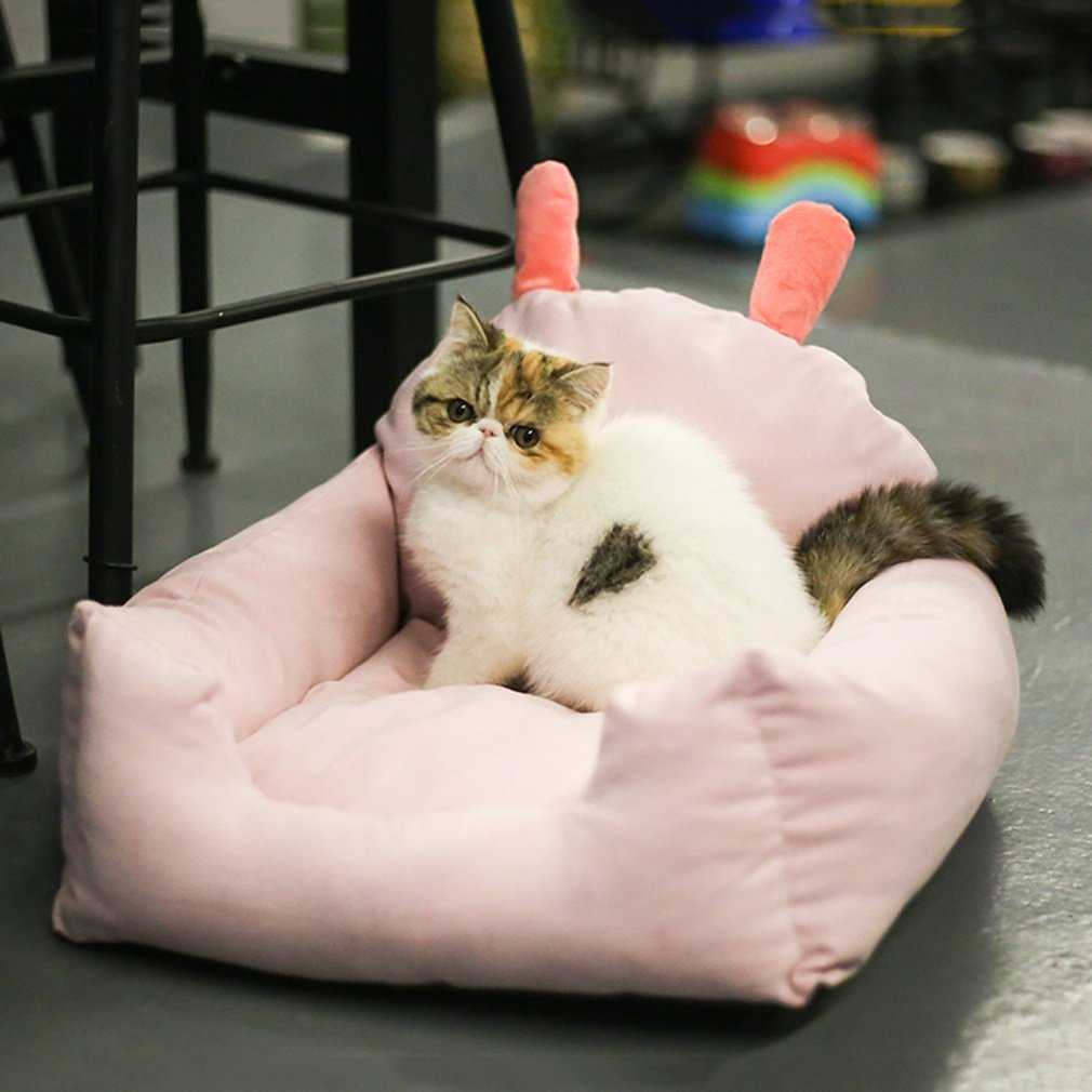 Cat Dog mat,Dog mat,Dog Bed,Pet Supplies, Dog pet pad, Cartoon Kennel, Teddy Dog nest, cat Litter, Spring, Summer, Autumn, Winter,Cat Dog Basket Nest House