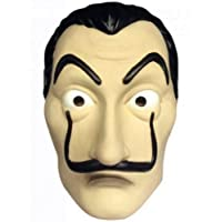 koobea Salvador Dali Face Mask Latex Masque La CASA De Papel Masque by