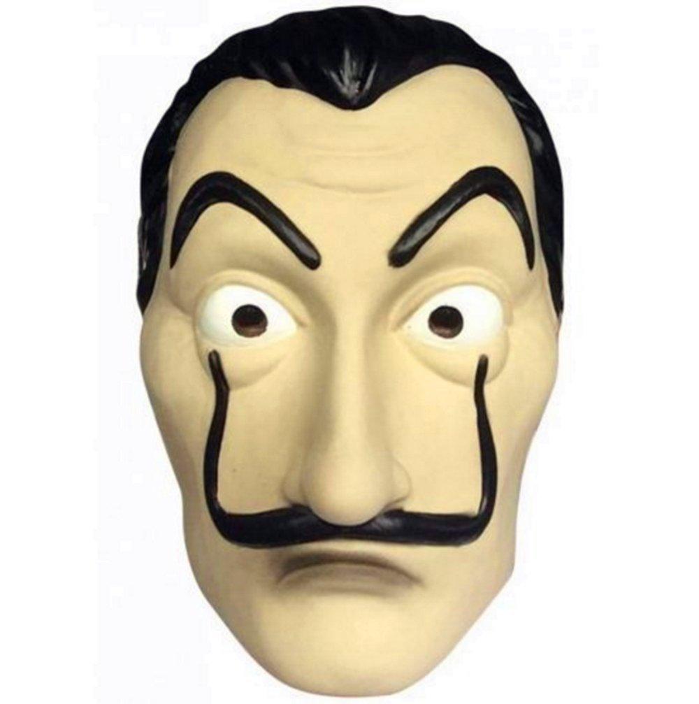 koobea Salvador Dali Face Mask Latex Masque La CASA De Papel Masque by product image