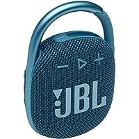 JBL Clip 4 - Draagbare bluetooth speaker met karabijnhaak, water- en stofbestendig, in het blauw