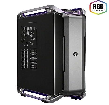 Cooler Master Cosmos C700P - Cajas de ordenador de sobremesa E-ATX, ATX, mATX, mini-ITX, LED RGB, Panel lateral de vidrio templado ...