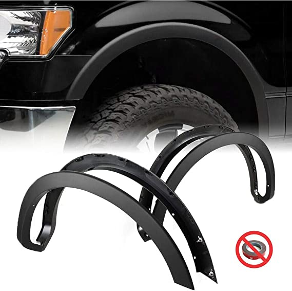 AOKAILI Fender Flare Protector Fit Ford F-150