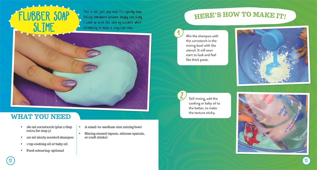 how to make slime with body wash and toothpaste
