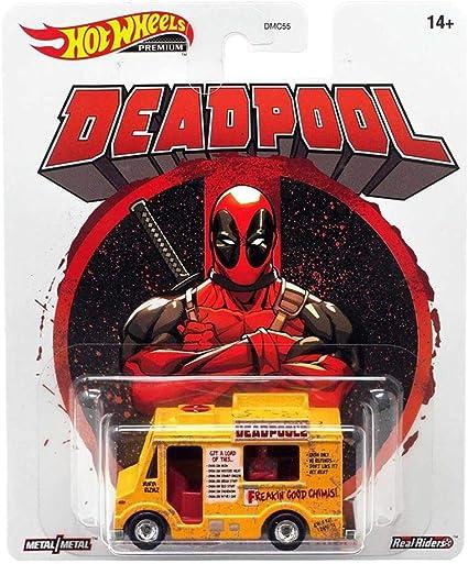 NEW 2020 Hot Wheels Premium Retro Entertainment Deadpool Chimichanga Truck