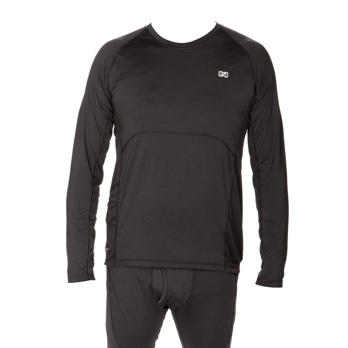 Mobile Warming Unisex-Adult Longman Heated 7.4v Shirt Black, Large