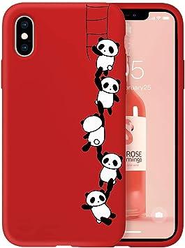 coque iphone 8 red panda