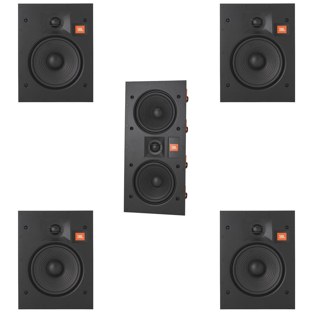 JBL Arena 5.0 Home Theater System with 4 JBL Arena 6IW In-Wall Loudspeakers and 1 JBL Arena 55IW In-Wall Loudspeaker by JBL