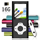 Amazon Price History for:Tomameri - Portable MP3 / MP4 Player with Rhombic Button, Including a 16 GB Micro SD Card and Support up to 32GB, Compact Music & Video Player, Photo Viewer, Video and Voice Recorder Supported - Black