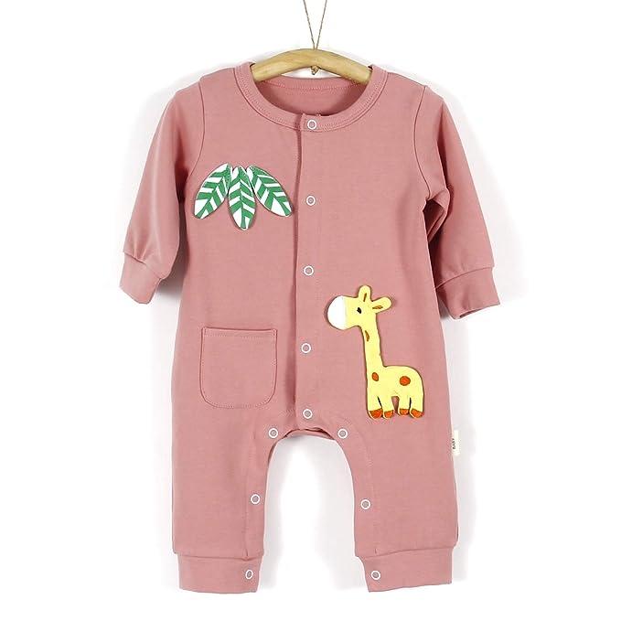 7d4ca9bc1f3a Amazon.com  Yaffi PatPat Unisex Baby s Long Sleeve Bodysuit Cute ...