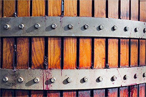 Australia, Barossa Valley, Hydraulic Presses, Winery by Janis Miglavs/Danita Delimont Laminated Art Print, 33 x 22 inches
