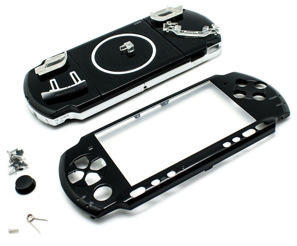 Carcasa Completa PSP 3000 Negro: Amazon.es: Electrónica