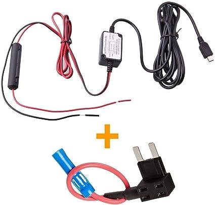 Micro USB In Car Dash Cam Hardwire Kit