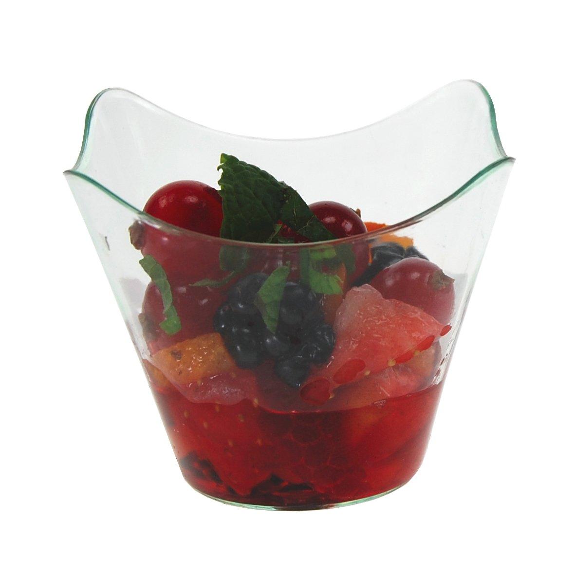 MB19 Vaso Campana- 5,7cl Venta en caja de 200 uds (8 bolsas de 25 uds) degustaciones de aperitivos en catering y hostelería: Amazon.es: Hogar