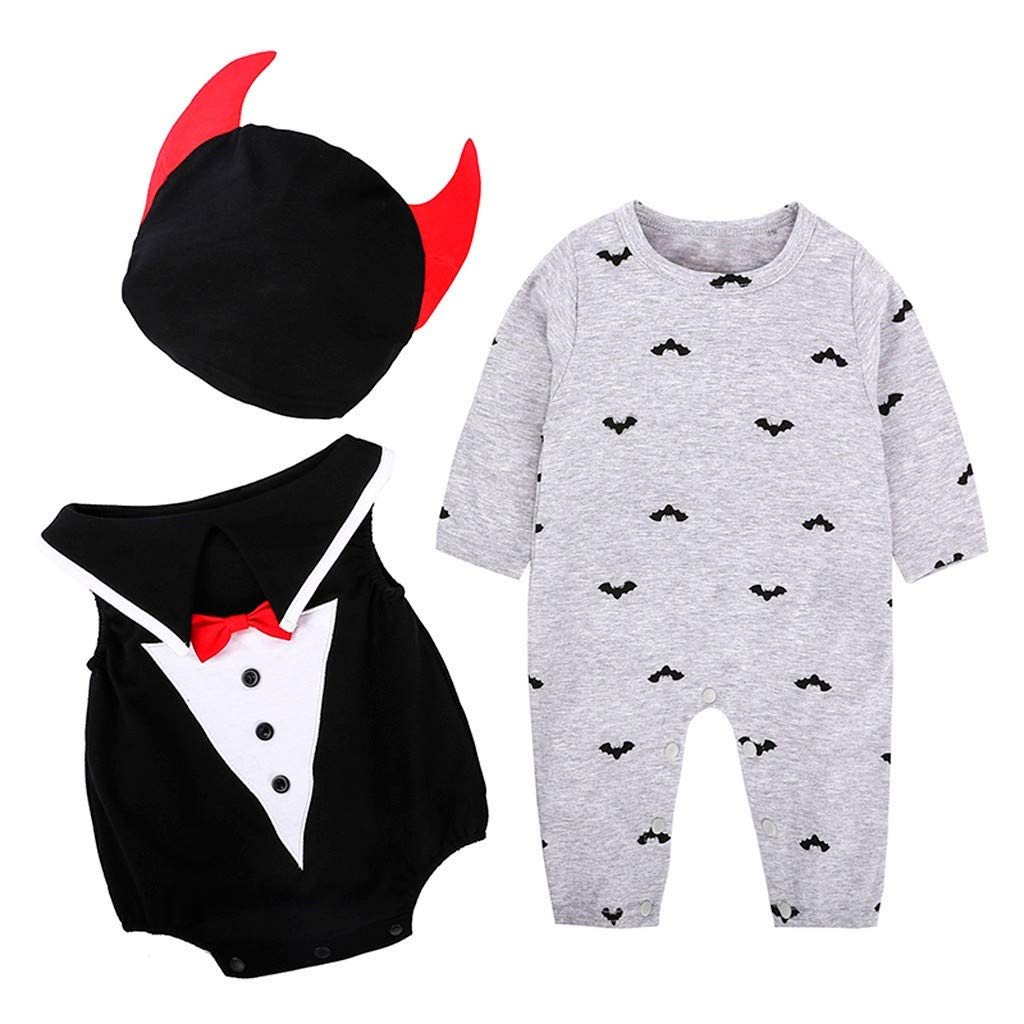 ZODOF Ropa de Halloween Recién Nacido Bebé Niño Niña Gentilhombre ...