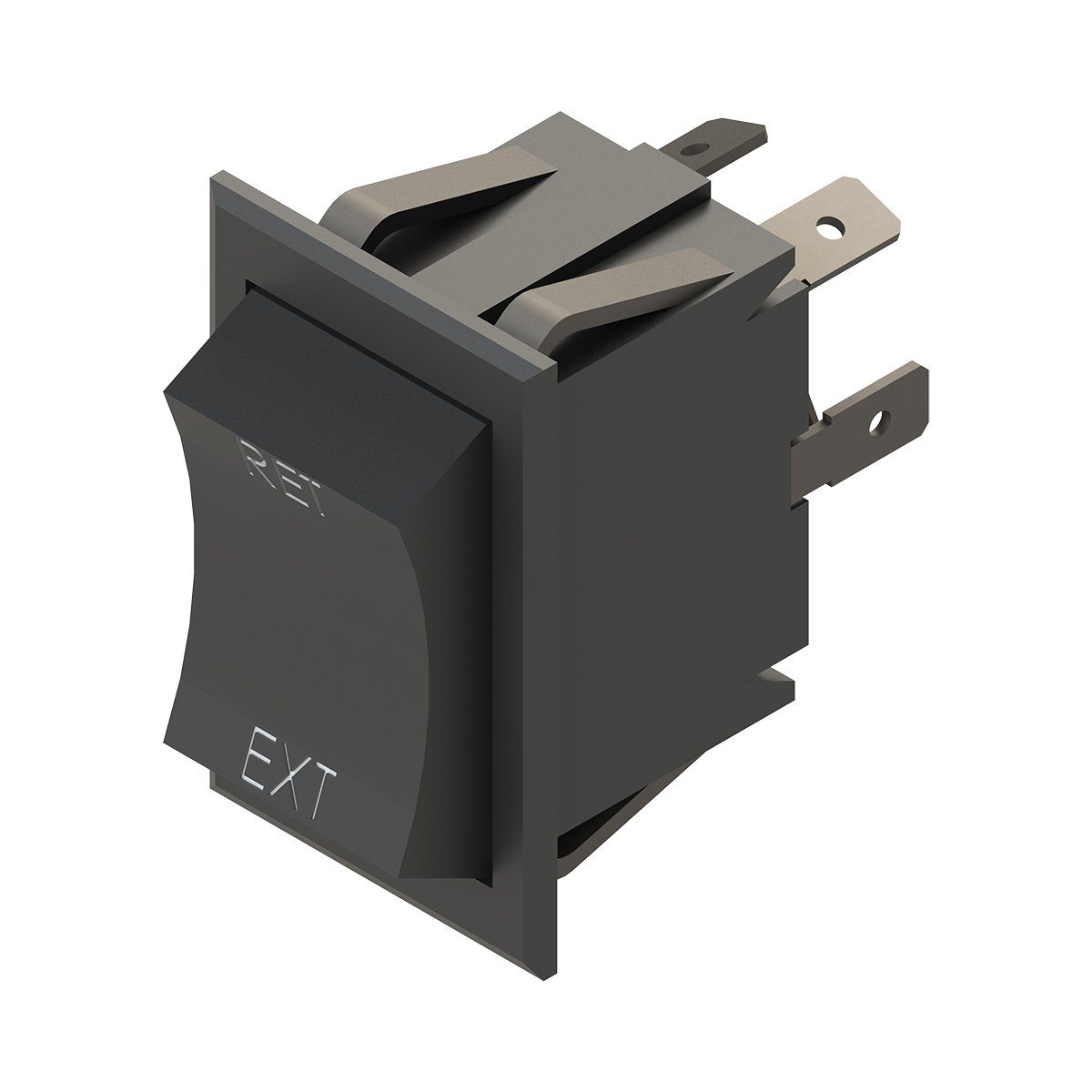 Lippert Components 226023 Extend/Retract Switch Assembly - LCI Power Tongue Jack (V2) by Lippert Components