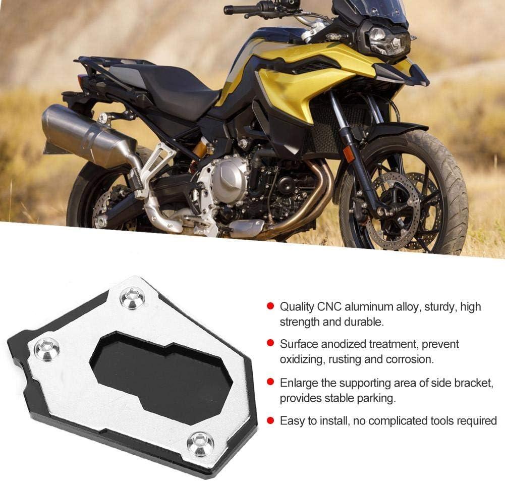 Qiilu Amplificatore di estensione del cavalletto laterale per moto adatto per F750GS F850GS 2018-2019