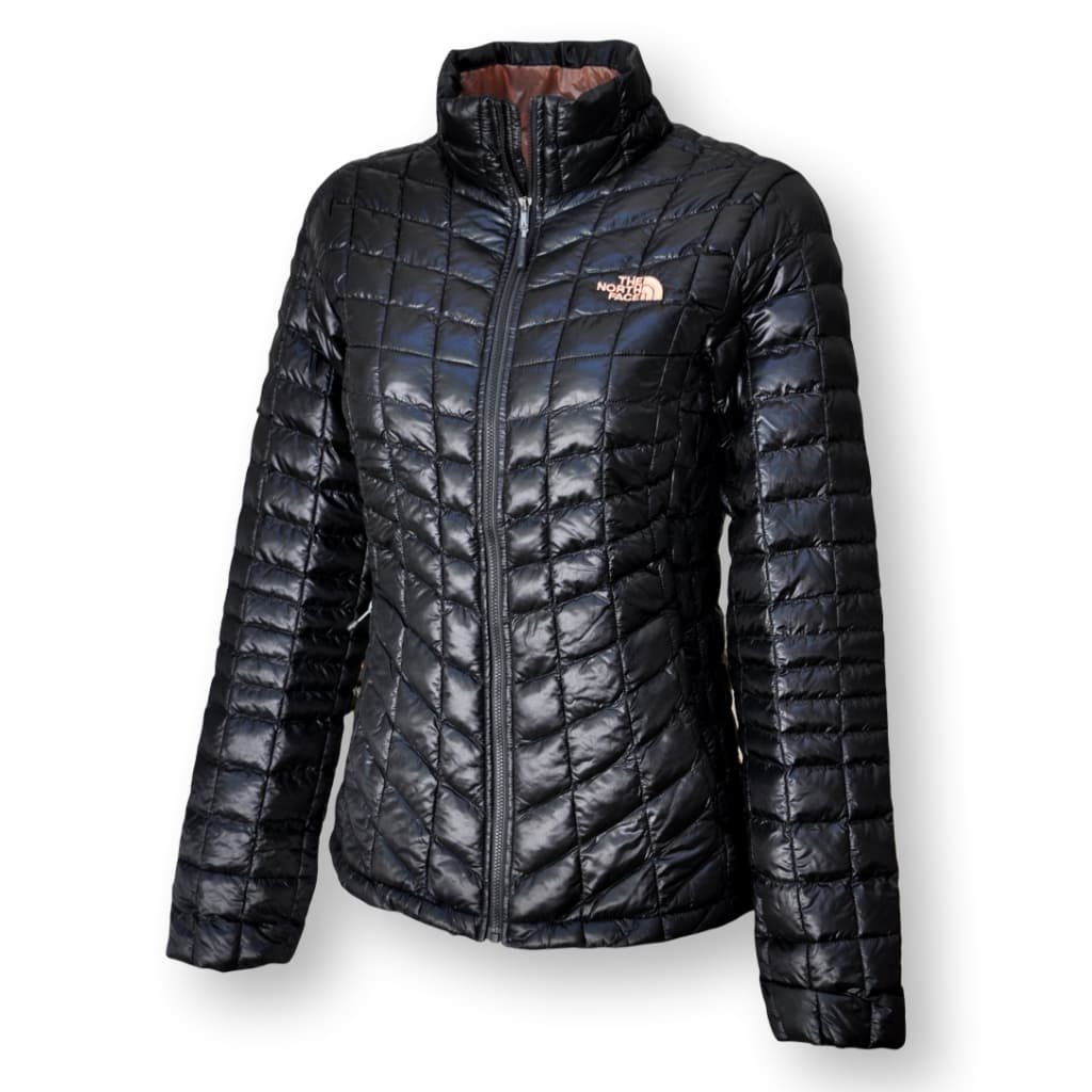 The North Face Women's Thermoball Full Zip Jacket, TNF Black/Rose Dawn, Small