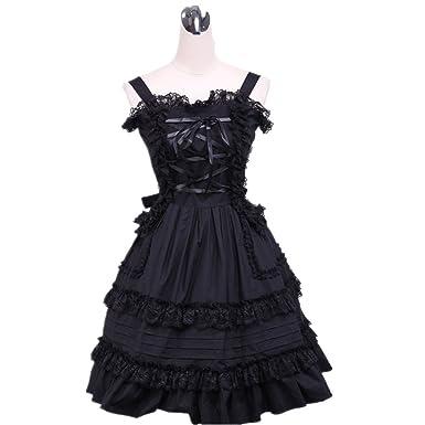 Girls & Secrets traje de Cosplay Lolita disfraz de sirvienta ...