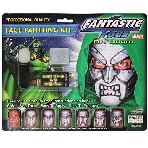 Fantastic Four Dr. Doom Make-Up Kit -