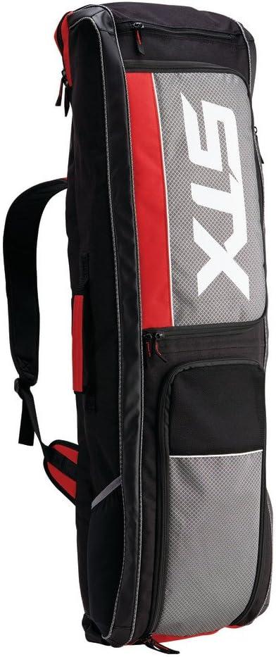 STX Field Hockey Passport Travel Bag, Black/Red : Sports & Outdoors