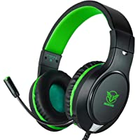 Gaming Headset for Xbox One, PS4,Nintendo Switch, Bass Surround and Noise Cancelling with Flexible Mic, 3.5mm Wired…