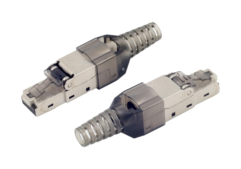tsnetworks 5. Stk CAT.6a RJ45 Stecker 500Mhz, 10Gbit: Amazon.de ...