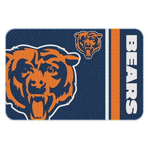 - Northwest 336 20x30 NOR-1NFL336000001WMT Chicago Bears NFL Tufted Rug, 30 x 20