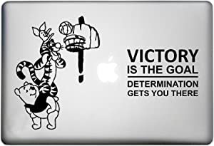 WallDecalsAndArt Winnie The Pooh Friends Character Sticker Art Decor Decal is a Winnie The Pooh Friends Playing Ball. Laptop Sizes 11, 12, 13 and 15 inch. Many Colors-Black