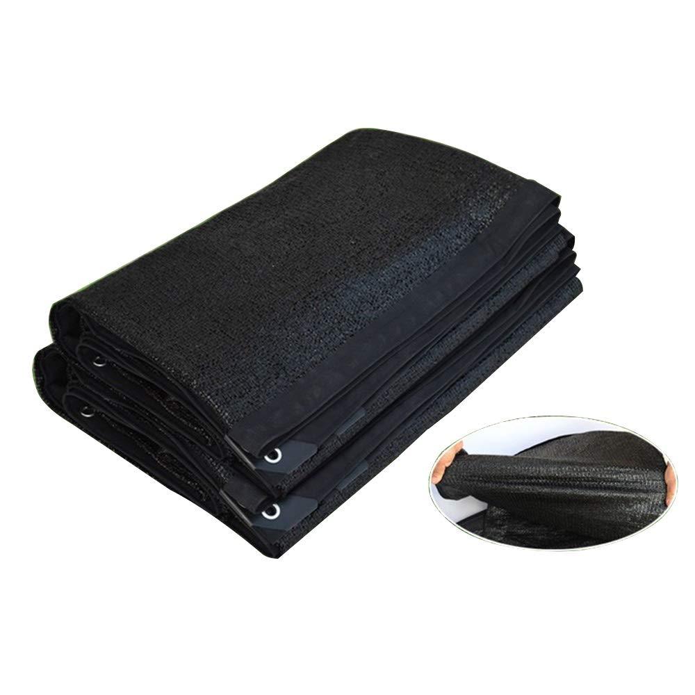 8X10m ZX- Filet D'ombre, écran Solaire épaissi Crypté, Utilisateur Agricole En Dehors de La Tente de L'usine, Pour Balcon, Cour, Filet D'isolation Solaire (Taille   3X8m)