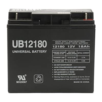 Universal Power Group 12V 18AH UPS Battery Replaces 17Ah Sterling H17-12, H 17-12: Electronics