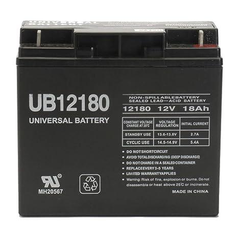12v 18ah Battery >> Universal Power Group 12v 18ah Ups Battery Replaces 17ah Mk Battery Es17 12 Es 17 12