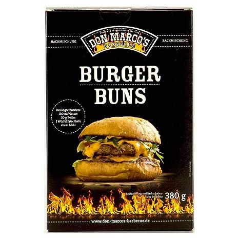 DON MARCOS Preparado para Burger Buns 380 g: Amazon.es: Jardín
