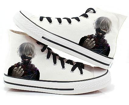 c921da8adb74e Buy Telacos Tokyo Ghoul Anime Kaneki Ken Cosplay Shoes Canvas Shoes ...