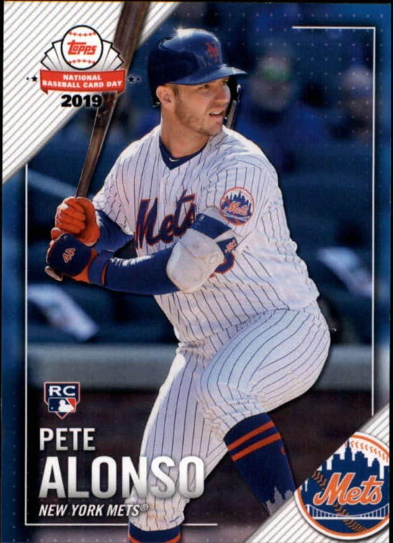 Short Print SP 2019 Bowman Platinum Baseball #20 Pete Alonso Rookie Card