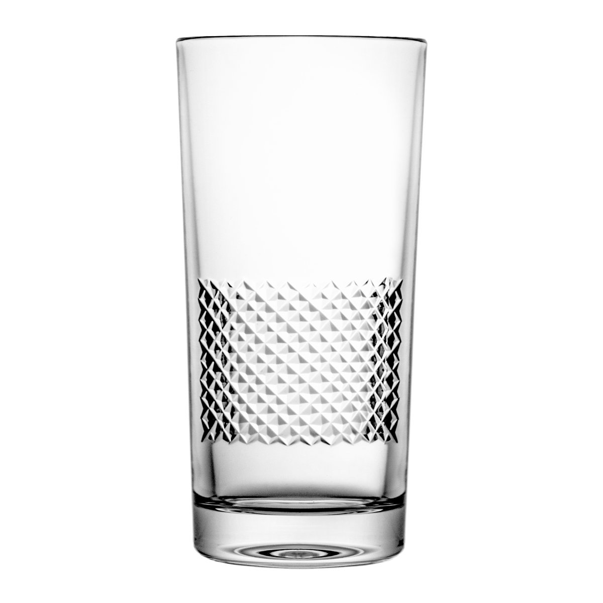 Pack of Aljulia 14339Water Glass, Crystal, 200ml, 6x 11.5cm 6Units by Crystal Julia