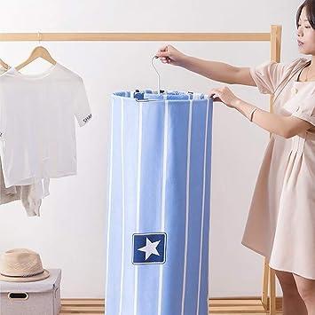 Amazon.com: DSstyles - Perchero de secado de ropa en espiral ...
