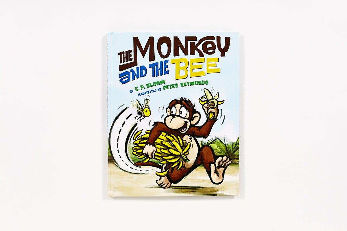 The Monkey and the Bee (The Monkey Goes Bananas) by Abrams Books for Young Readers (Image #3)