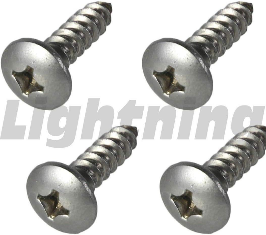 #10 x 3//4 Truss Head Sheet Metal Screws Sq Drive Stainless Steel Qty 2500