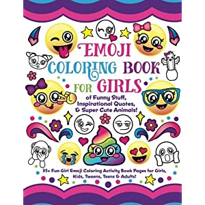 Read Emoji Coloring Book For Girls Of Funny Stuff