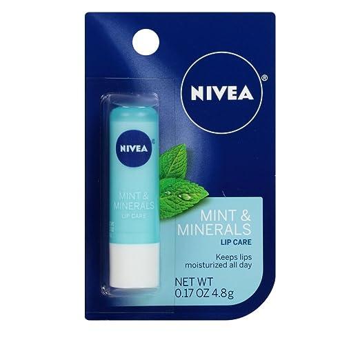 NIVEA Mint Minerals Lip Care 0.17 oz Pack of 12