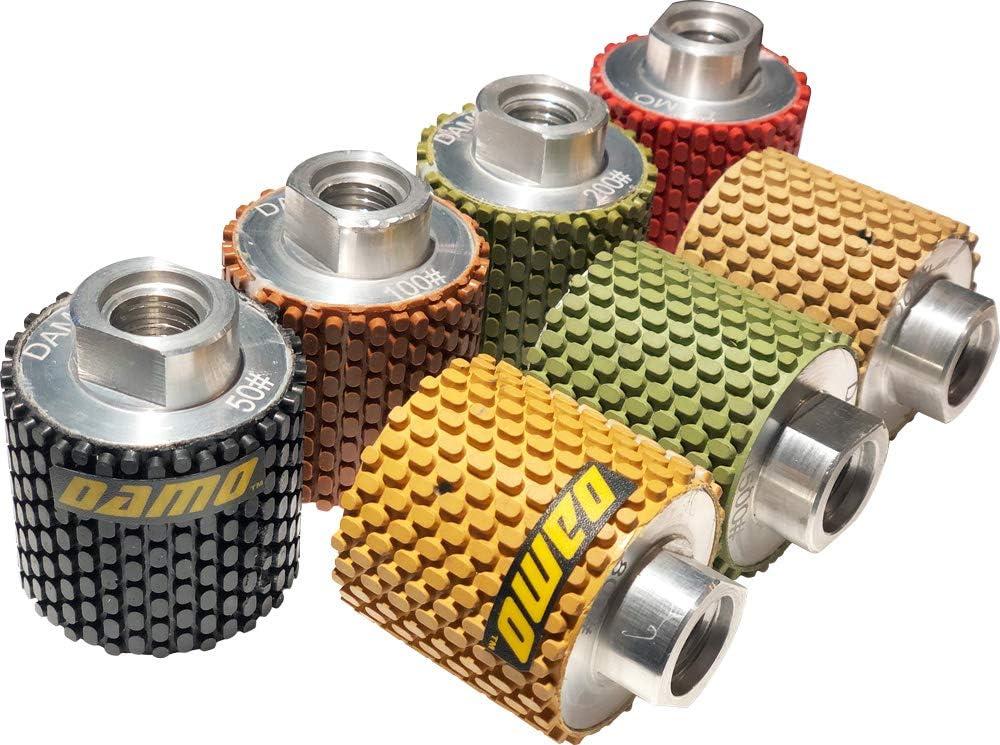 "2/"" Dry Polishing Drum Wheels Grit 3000 for Granite//Marble//Concrete"