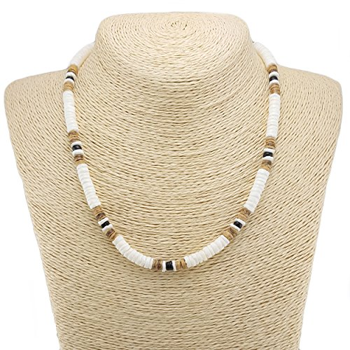 Tiger Puka Shell Necklace - 8