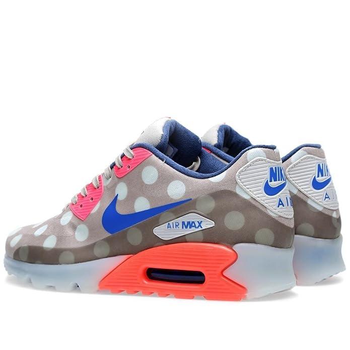 sports shoes 74fa0 ad897 Amazon.com   Nike Mens Air Max 90 Ice City Qs CLASSIC STONE HYPER  PUNCH LIGHT BONE 667635-001 13   Fashion Sneakers