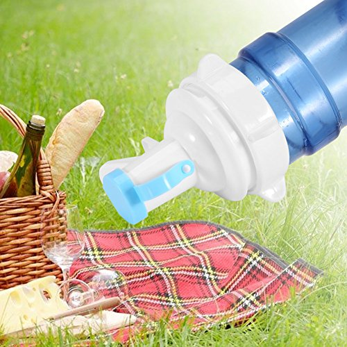 Drinking Water Pump,Acogedor Environmental PP Manual Water Bottle Pump with Anti-Dust Cap for Home and Travel Use by Acogedor (Image #4)