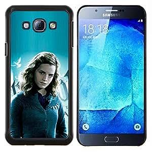 "Be-Star Único Patrón Plástico Duro Fundas Cover Cubre Hard Case Cover Para Samsung Galaxy A8 / SM-A800 ( Hermione Chica"" )"
