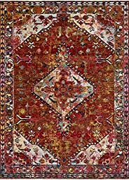 Loloi Silvia X Justina Blakeney Collection Area Rug, 6' x 8'8&quo