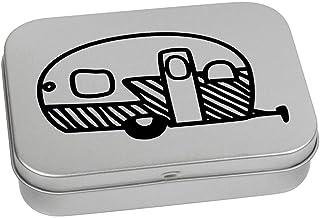 Azeeda 110mm 'Caravan Statico' Contenitore Tin / Scatola di Latta (TT00081270)