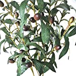 Lanldc-3-pcs-28-Green-Artificial-Olive-Stems-Branches-Fake-Flowers-Branch-Leaves-for-Home-Office-Decor