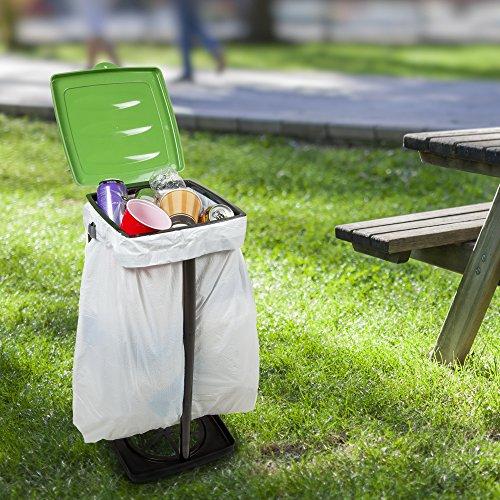 Knock 37% off a portable trash bag holder