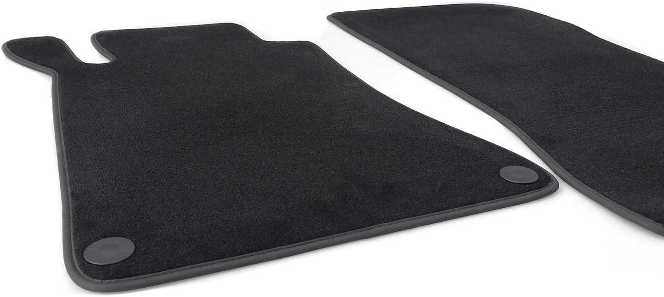 4-teilig schwarz NEU Rips Fußmatten Mercedes A-Klasse W169 Original Qualität